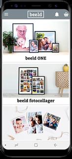 Design via Android app'en